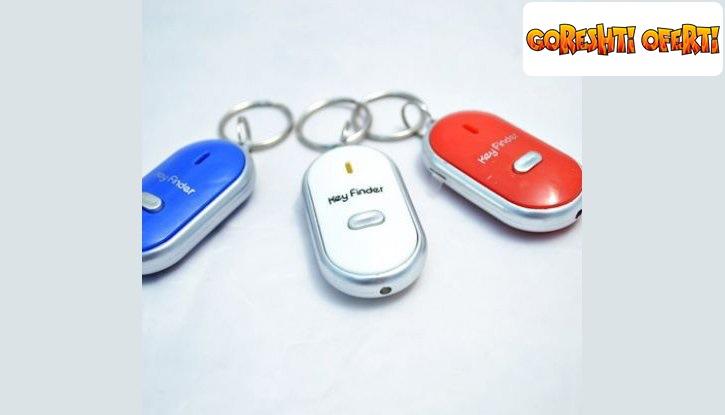 Ключодържател с аларма и фенерче снимка #0