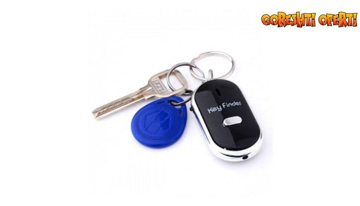 Ключодържател с аларма и фенерче снимка #1