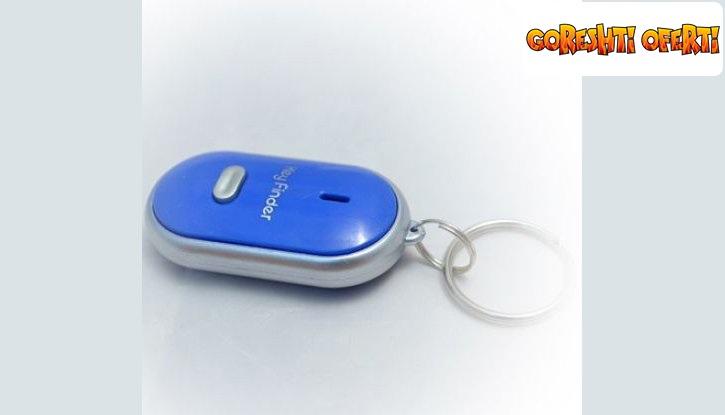 Ключодържател с аларма и фенерче снимка #2