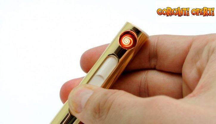 Електрическа USB запалка - ветроупорна и безопасна снимка #0