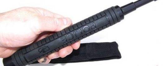 ПРОМО! Сгъваема телескопична полицейска палка