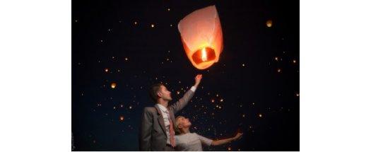 Китайски летящи фенери