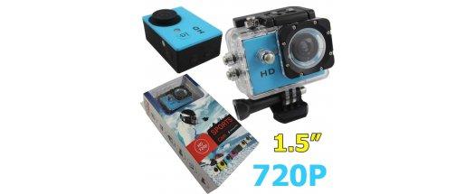 Водоустойчива екшън камера FULL HD 1080p снимка #1