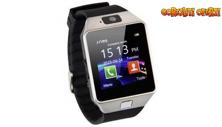 ПРОМО! Смарт часовник със слот за SIM карта снимка #1