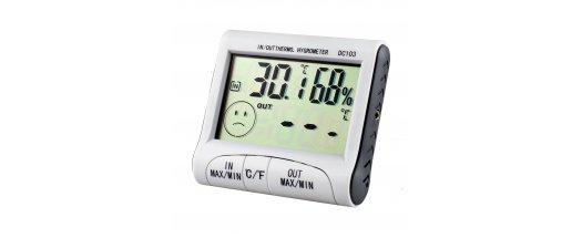 Дигитален термометър /хигроматър - DC103 IN/OUT