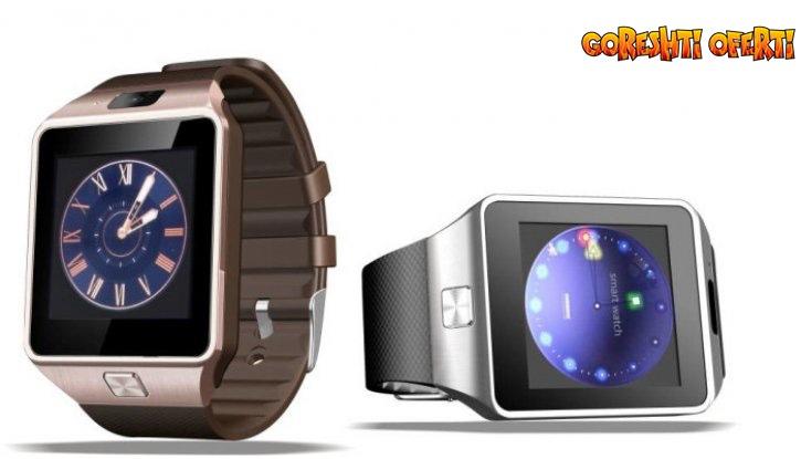 ПРОМО! Смарт часовник със слот за SIM карта снимка #0