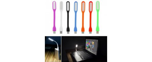 Практична USB LED лампа в свежи цветове