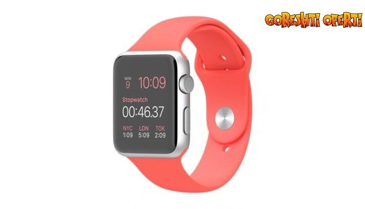 Стилен Смарт часовник със слот за SIM карта и BLUETOOTH снимка #1