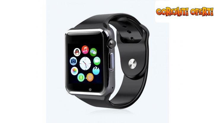 Стилен Смарт часовник със слот за SIM карта и BLUETOOTH снимка #6