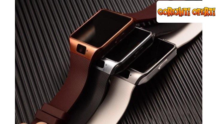 ПРОМО! Смарт часовник със слот за SIM карта снимка #12