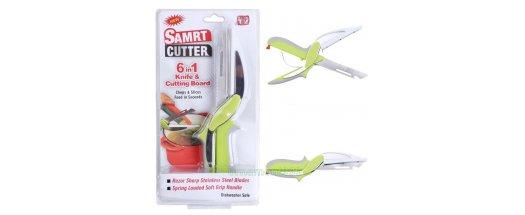 Ножица Clever Cutter за рязане нa месо и зеленчуци 6 в 1