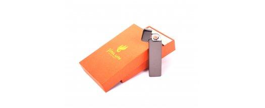 Елегантна противовятърна USB запалка снимка #0