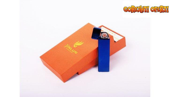 Елегантна противовятърна USB запалка снимка #1