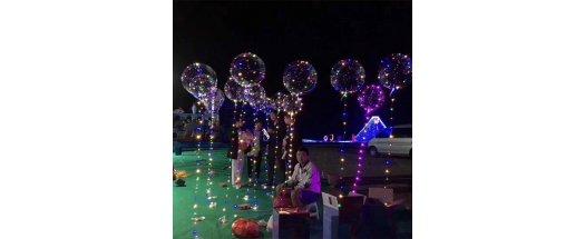 Атрактивен LED балон за супер украса снимка #2