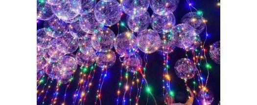 Атрактивен LED балон за супер украса снимка #0