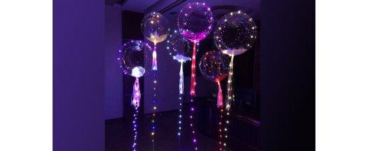 Атрактивен LED балон за супер украса снимка #1