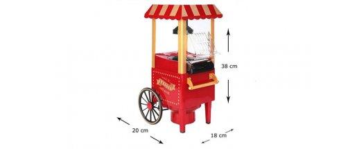 Ретро машина за пуканки Old fashioned popcorn maker снимка #4