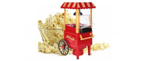 Ретро машина за пуканки Old fashioned popcorn maker снимка #2