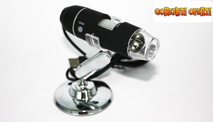 USB дигитален микроскоп с 500х оптично приближение  снимка #1