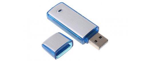 USB флаш памет 4GB и гласов рекордер в едно снимка #1