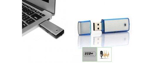 USB флаш памет 4GB и гласов рекордер в едно снимка #2