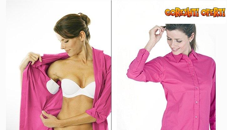 Лепенки против изпотяване под подмишниците за дрехи снимка #1
