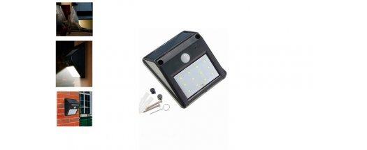 Соларна LED лампа с датчик за движение снимка #3
