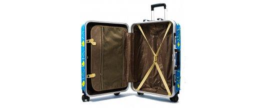 Комплект ХАЙ-ТЕК 2 броя куфари ALU-CARBO 025, алуминиеви спинъри с карбонови панели снимка #4