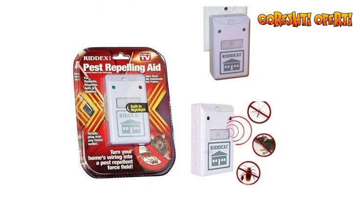 САМО ДНЕС: ЛИКВИДАЦИЯ RIDDEX електромагнитно устройство за борба с всякакви средители и гризачи на разбиваща цена снимка #2