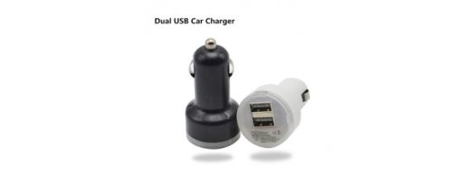 Двоен USB Разклонител за кола снимка #1