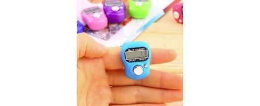 LCD електронен пръстов брояч снимка #0