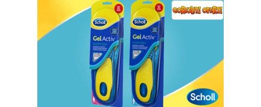 Стелки Scholl за ежедневна употреба с технология GelAktiv /мъжки или женски/  снимка #0