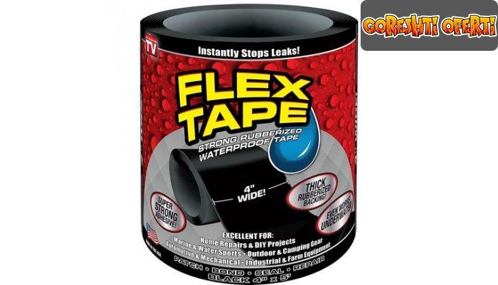 Водоустойчиво тиксо Flex Tape снимка #0