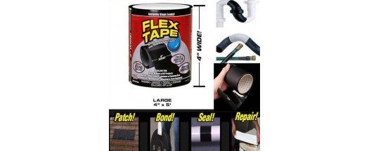 Водоустойчиво тиксо Flex Tape снимка #2