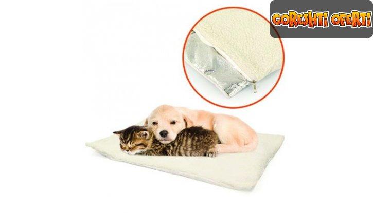 Самозатоплящо се легло за домашни любимци Self Heating Pet Bed снимка #4