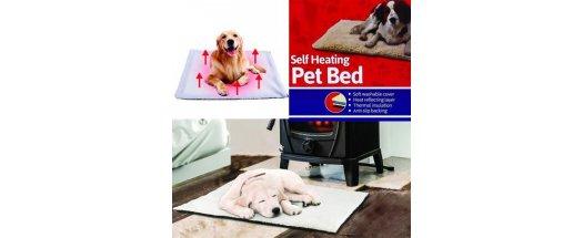 Самозатоплящо се легло за домашни любимци Self Heating Pet Bed снимка #1