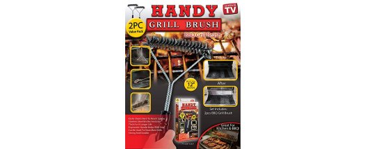 Четка за грил Handy Grill Brush снимка #4