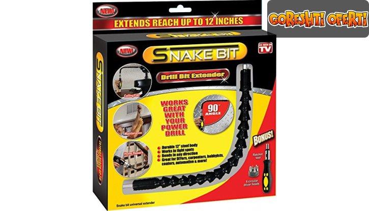 Професионална отвертка тип змия Snake Bit снимка #4
