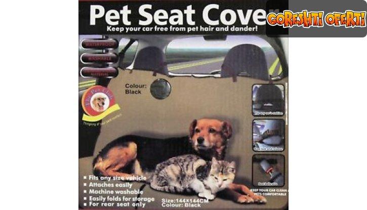Покривало за домашни любимци за кола Pet Seat Cover снимка #1