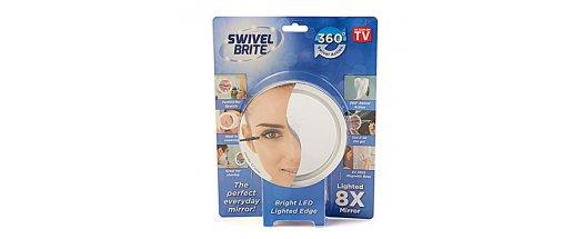 Увеличително LED огледало Swivel Brite снимка #2