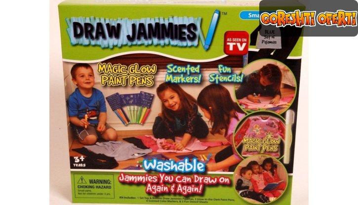 Маркери за Рисуване върху Дрехи Draw Jammies снимка #0