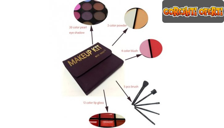 Грим комплект Miss Doozy Makeup Kit снимка #4