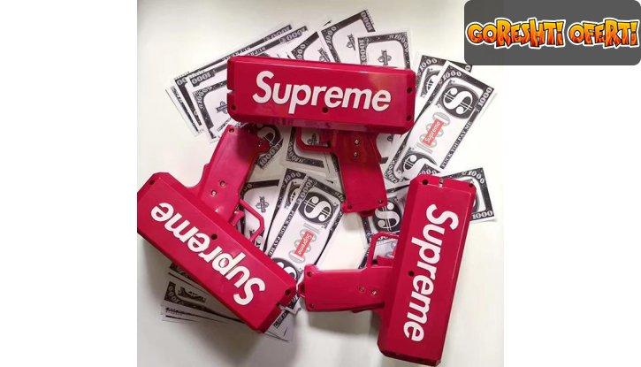 Пистолет изтрелващ пари Supreme Money Gun снимка #2