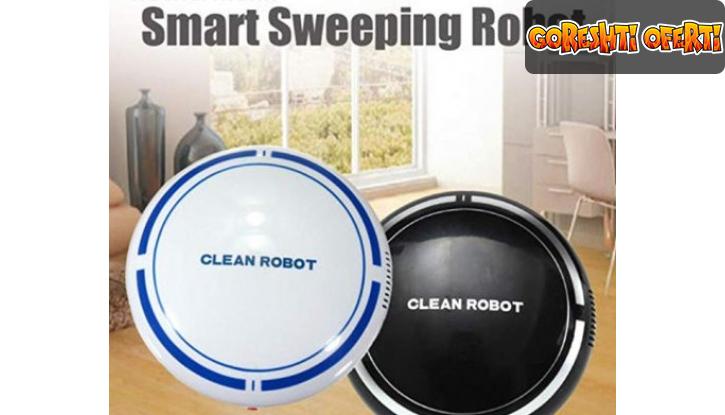 Мини прахосмукачка робот Sweep Robot снимка #0