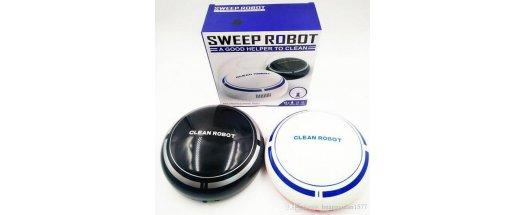 Мини прахосмукачка робот Sweep Robot снимка #1