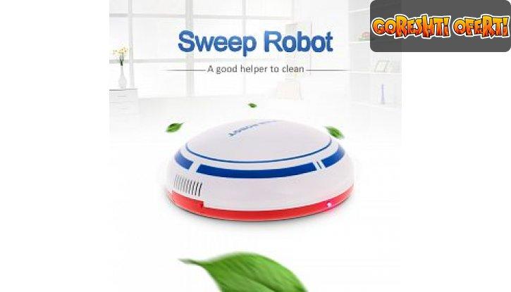 Мини прахосмукачка робот Sweep Robot снимка #2