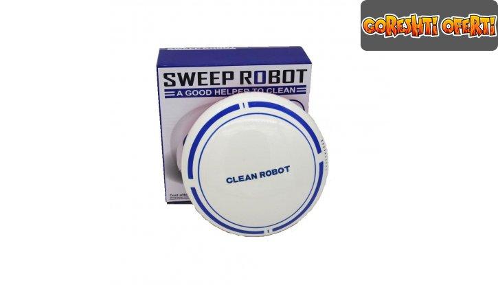 Мини прахосмукачка робот Sweep Robot снимка #3