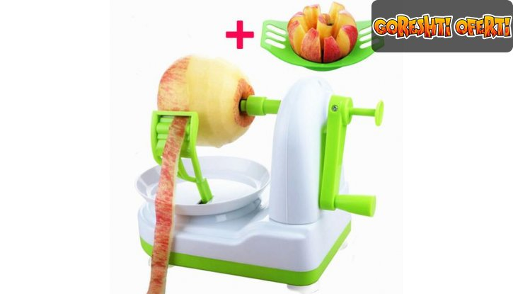 Белачка и резачка за ябълки Apple Peeler снимка #0