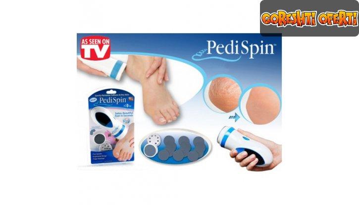 Уред за премахване на загрубялата кожа Pedi Spin снимка #2