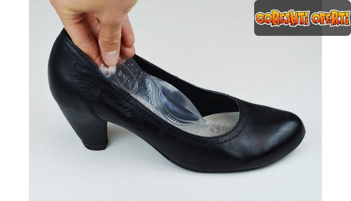 Стелки за ежедневни дамски обувки с нисък ток Scholl Gel Activ Everyday Heels снимка #1
